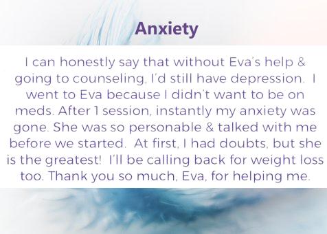 Eva Wells, 1st Choice Hypnosis